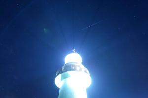 恵山岬灯台からの星空