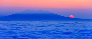 津別峠からの大雲海