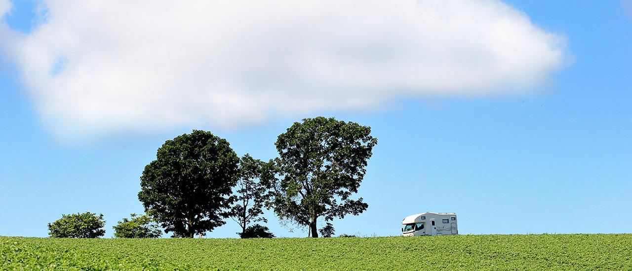 キャンピングカーで旅する北海道 富良野・美瑛コース